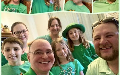 St Patrick's Day: Green & 3D & Friends