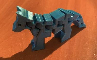 3D Dog/Fox