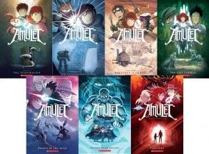 Image result for amulet book series