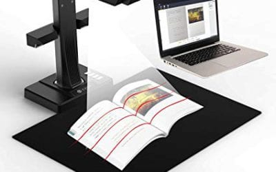 Book Scanner for School Yearbooks